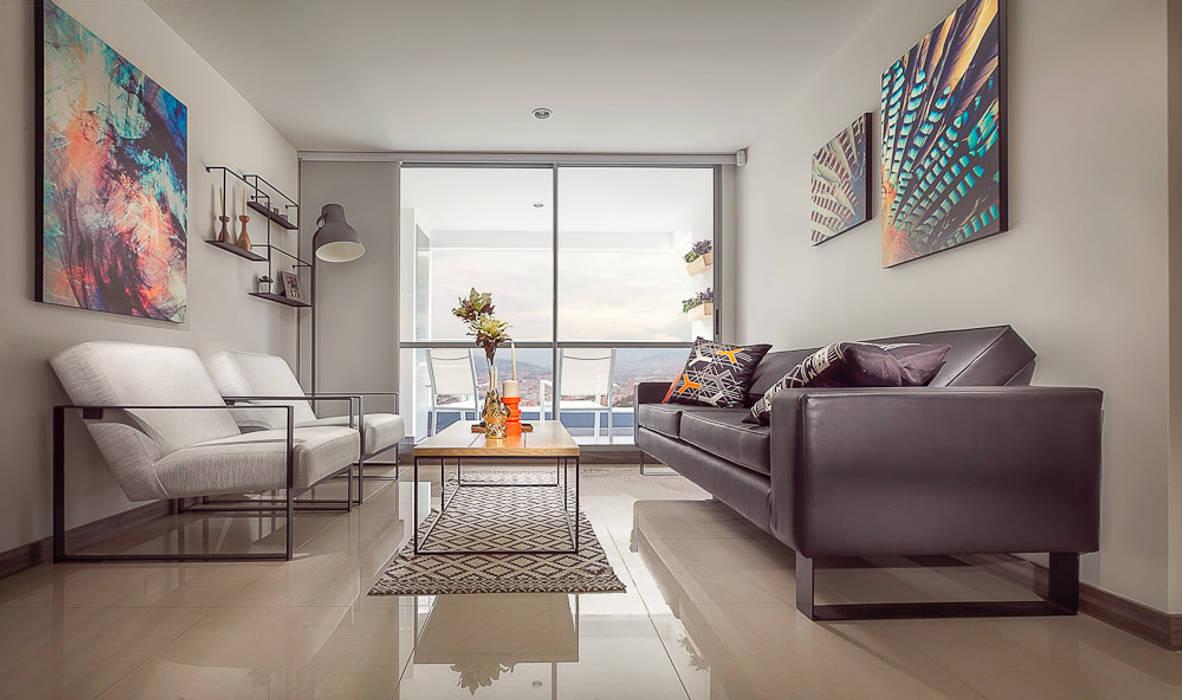 Maria Mentira Studio Living roomAccessories & decoration Leather Black