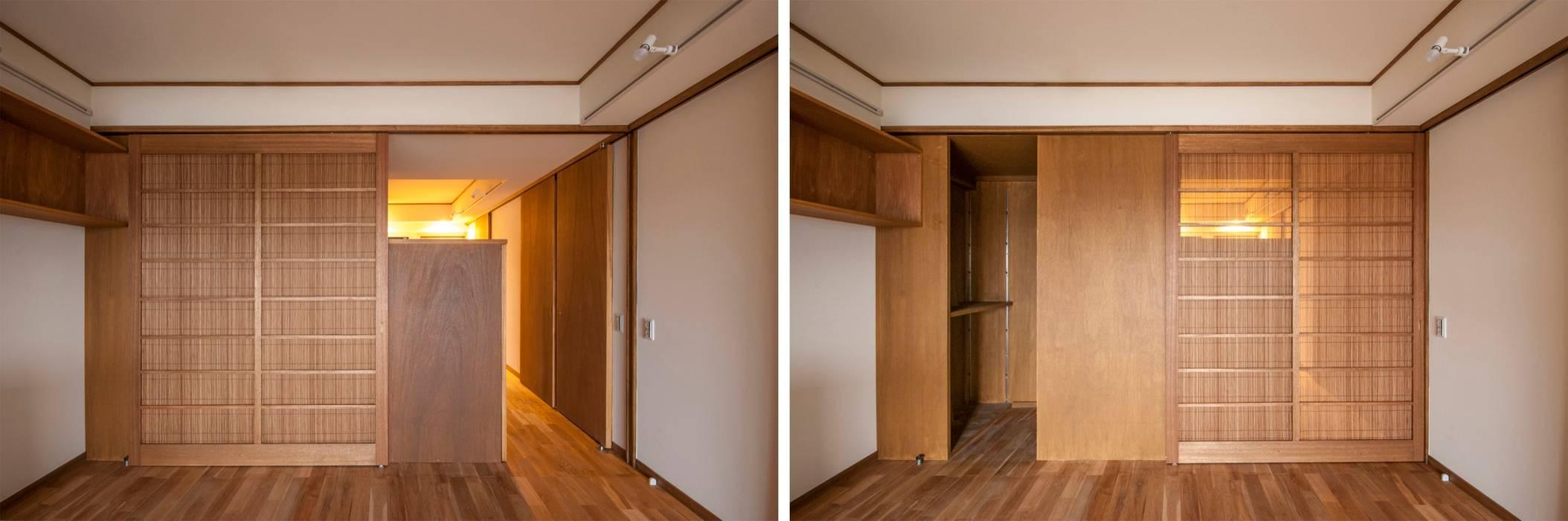 千田建築設計 Pintu Kayu Wood effect