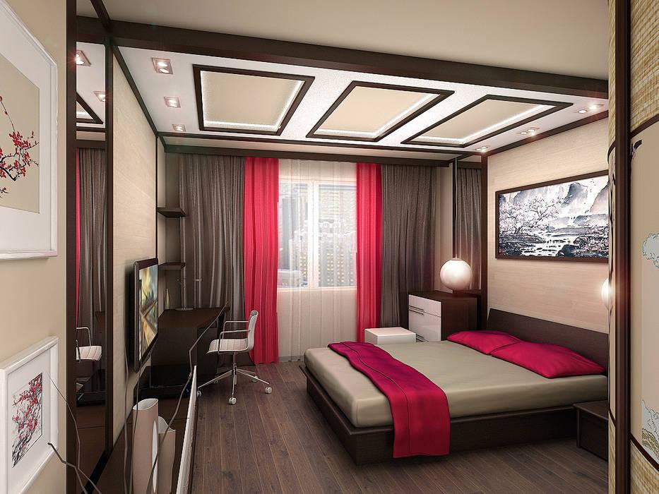 Квартира 4 Спальня в эклектичном стиле от ИП Поварова Татьяна Владимировна Эклектичный