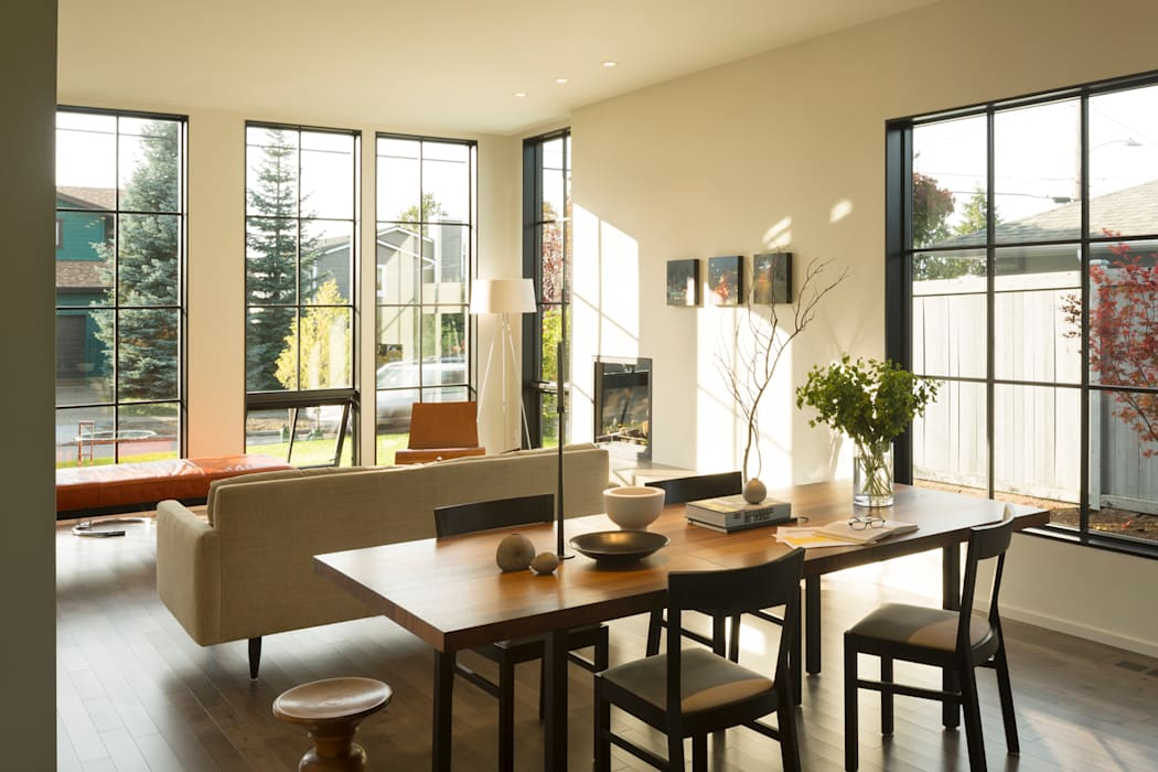 Magnolia House Modern Living Room by Rerucha Studio Modern