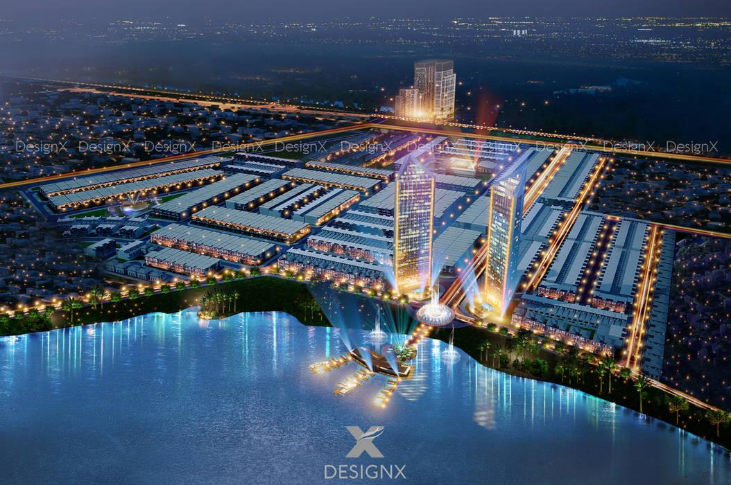 Dự án Khu Đô Thị Sun River City bởi CTY CP KIẾN TRÚC XÂY DỰNG DESIGNX Hiện đại