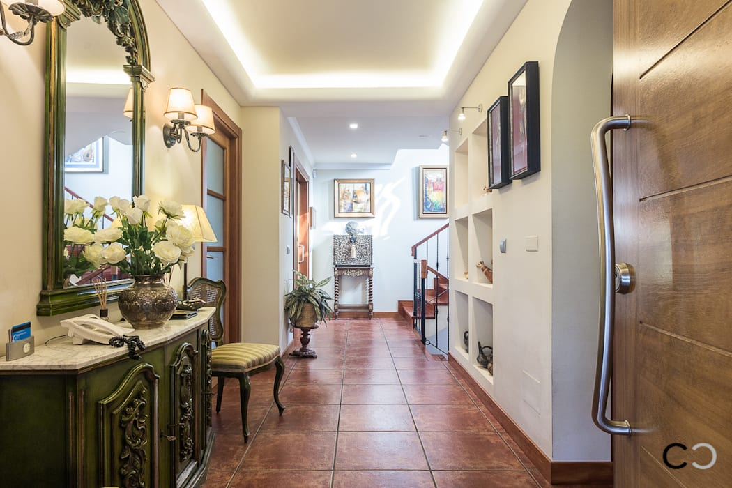 CCVO Design and Staging Modern Corridor, Hallway and Staircase