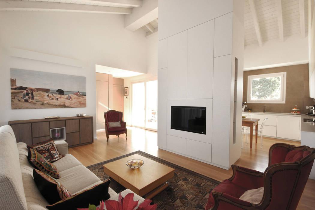 Arredamento moderno minimale soggiorno in stile di jfd for Soggiorno stile moderno