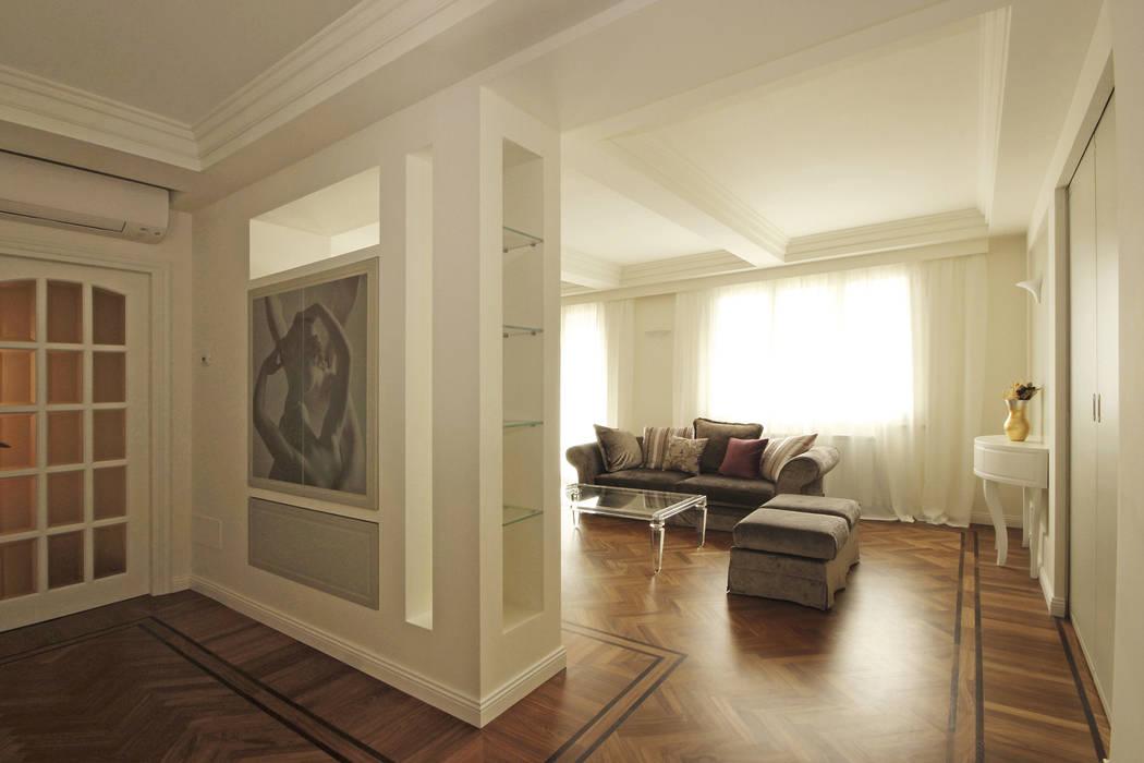 Architettura d 39 interni in stile classico contemporaneo for Interni architettura