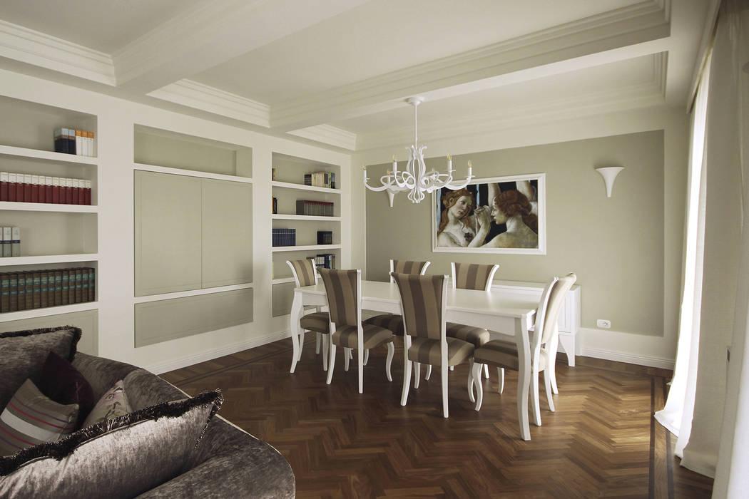 Architettura d 39 interni in stile classico contemporaneo for Arredamento moderno contemporaneo
