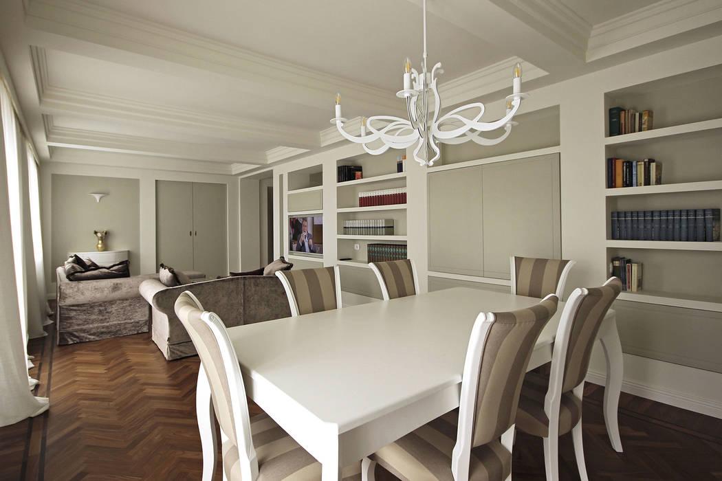 Sala Da Pranzo Moderna Contemporanea.Architettura D Interni In Stile Classico Contemporaneo Sala
