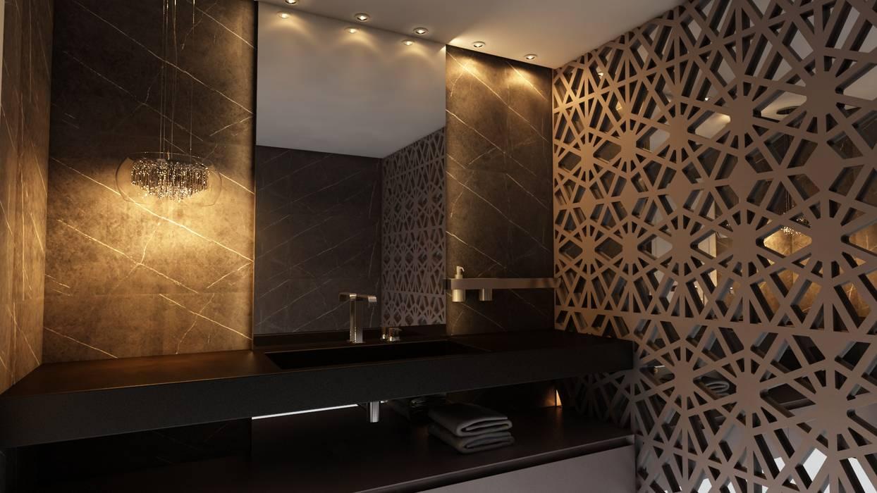 Ванные комнаты в . Автор – Nuriê Viganigo, Модерн