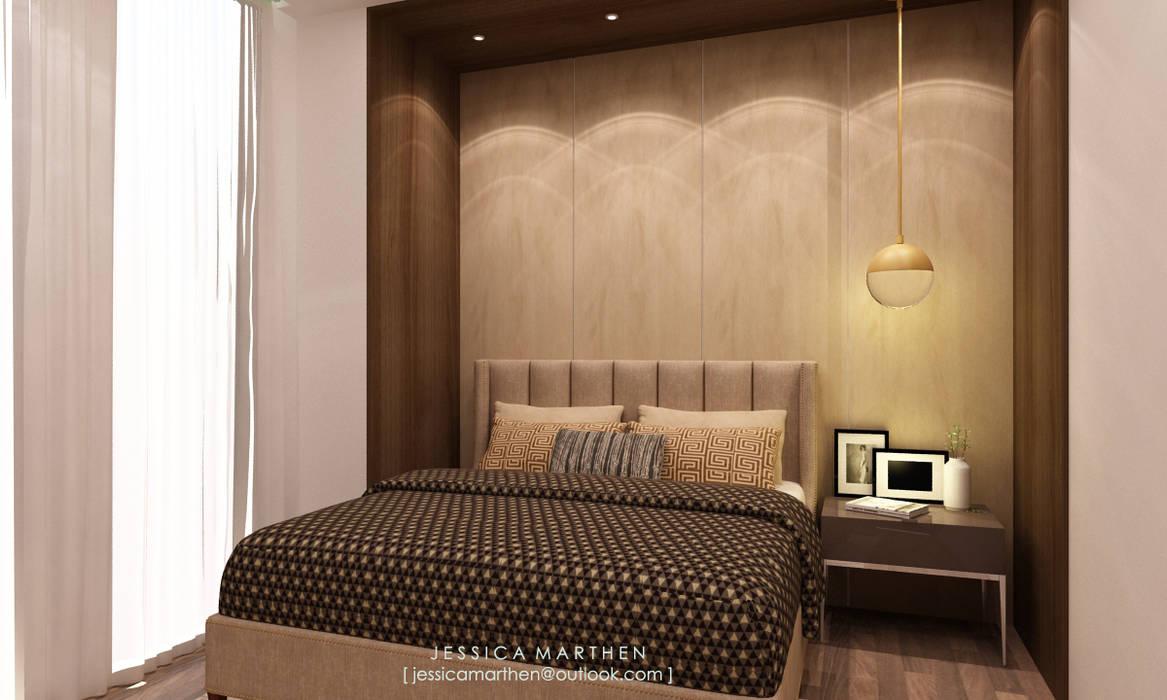 JESSICA DESIGN STUDIO Modern style bedroom