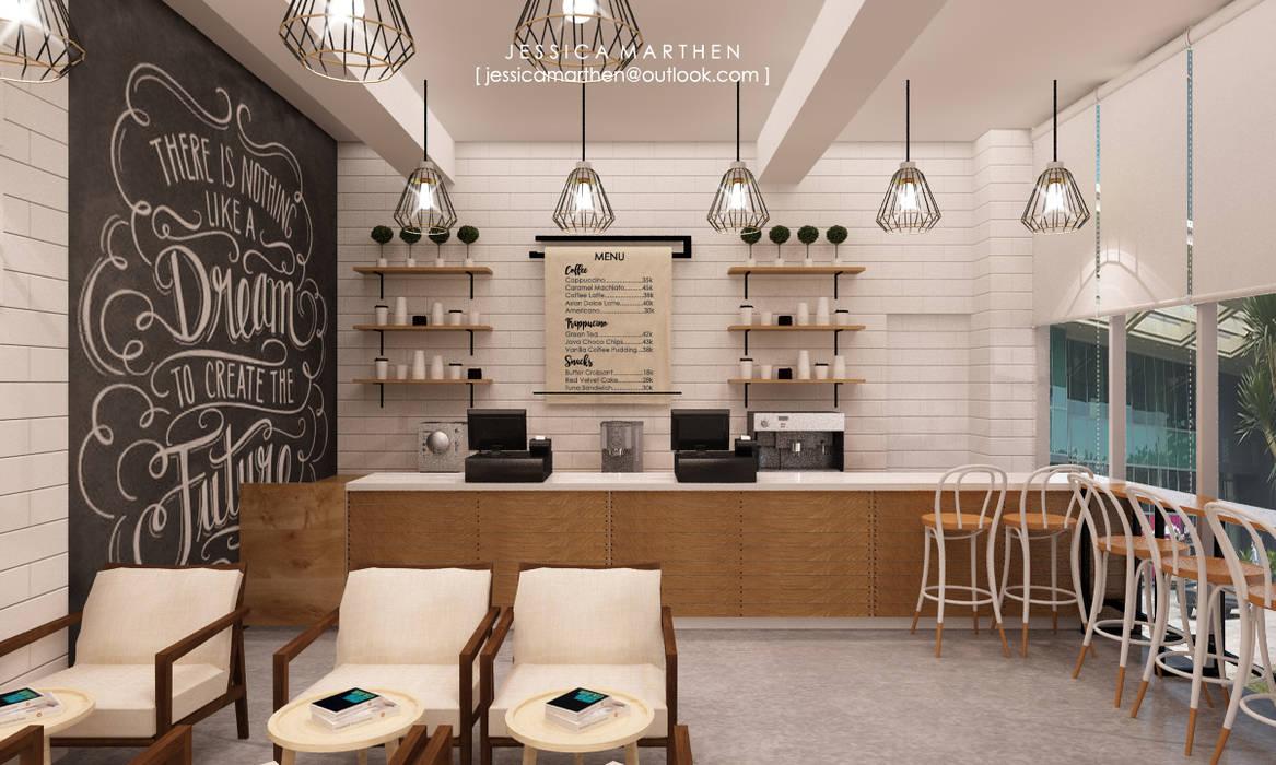 JESSICA DESIGN STUDIO Scandinavian style dining room
