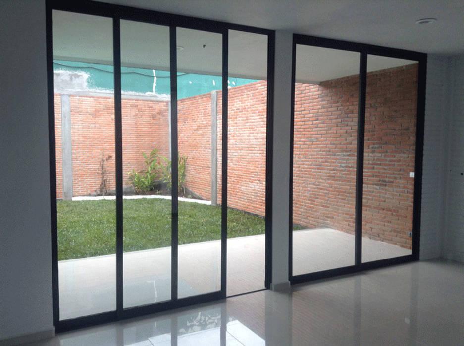 casa armex  puertas corredizas de estilo por taller 503