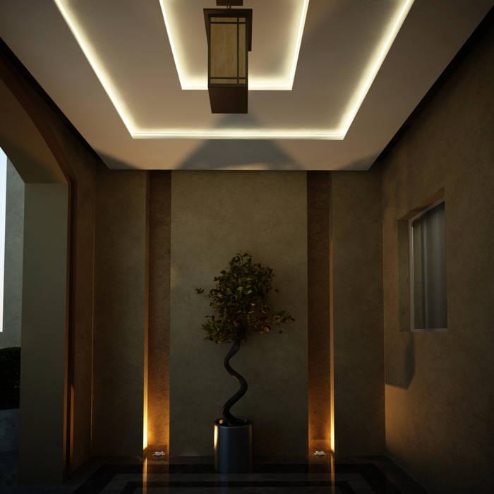 Spaces Koridor & Tangga Gaya Eklektik Oleh Levels Studio Eklektik