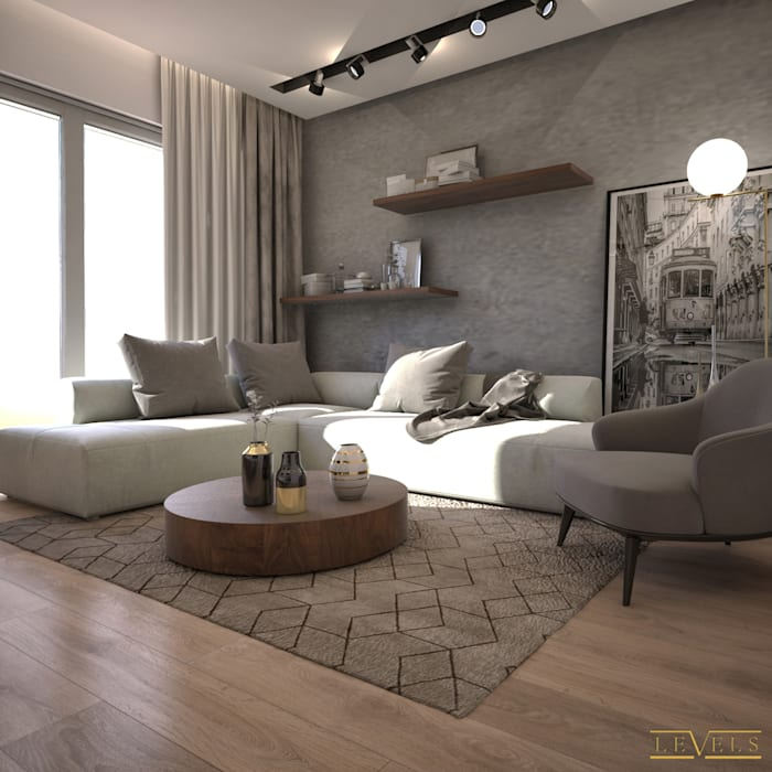 غرفة المعيشة تنفيذ Levels Studio, إنتقائي