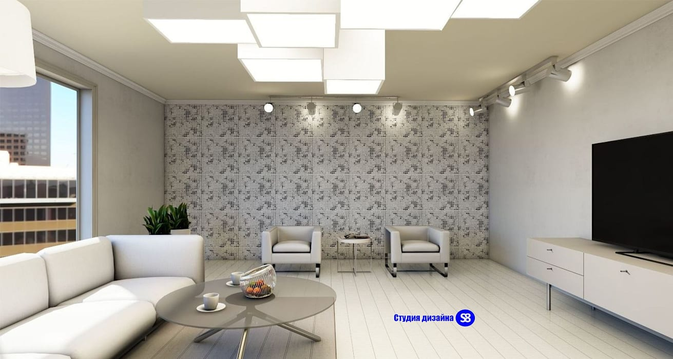 Living room by 'Design studio S-8' , Minimalist
