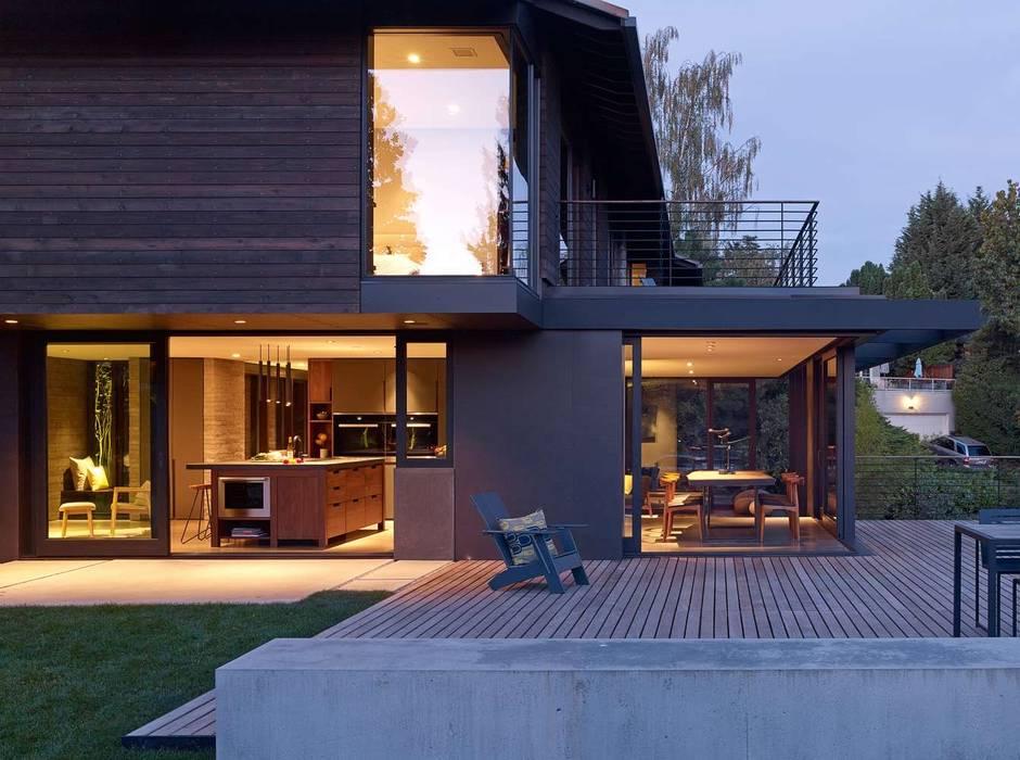 Aménagements extérieur moderner balkon, veranda & terrasse ...