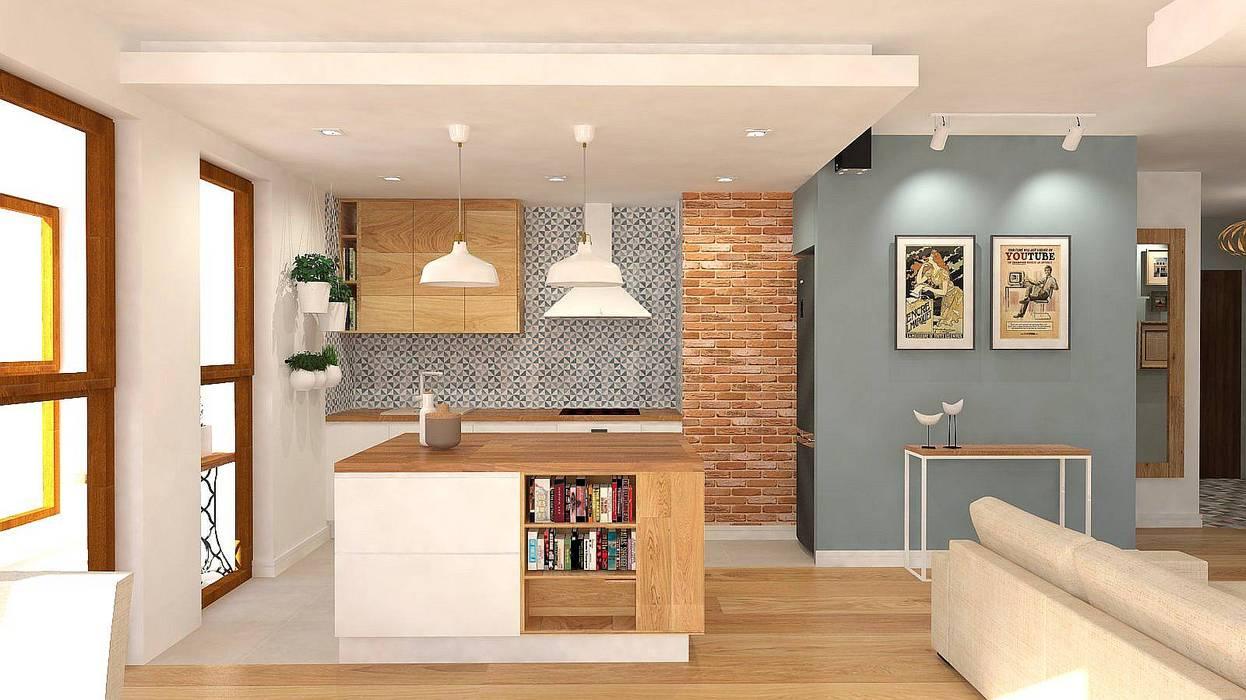 Kitchen units by Interior Idea Projektowanie Wnętrz,