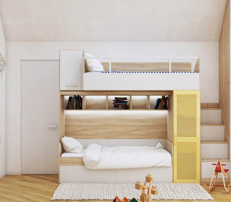 Girls Bedroom by homify