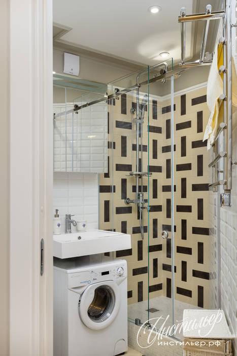 Bathroom by Студия Инстильер | Studio Instilier, Eclectic