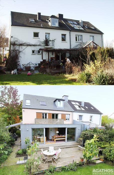 Sanierung und Erweiterung eines Einfamilienhauses in Aachen:  Häuser von Architekturbüro Sutmann,