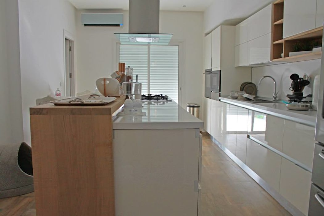 Villa Grey od Fares Ksouri Architecte Śródziemnomorski