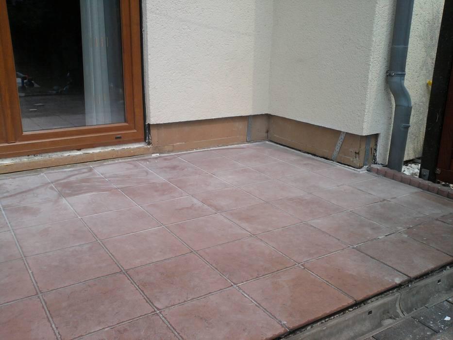 Neubau Und Sanierung Von Balkon Terrasse Flachen Von Bausanierung