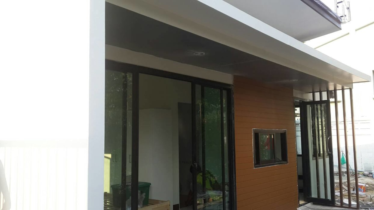 Projekty,   zaprojektowane przez P Knockdown Style Modern