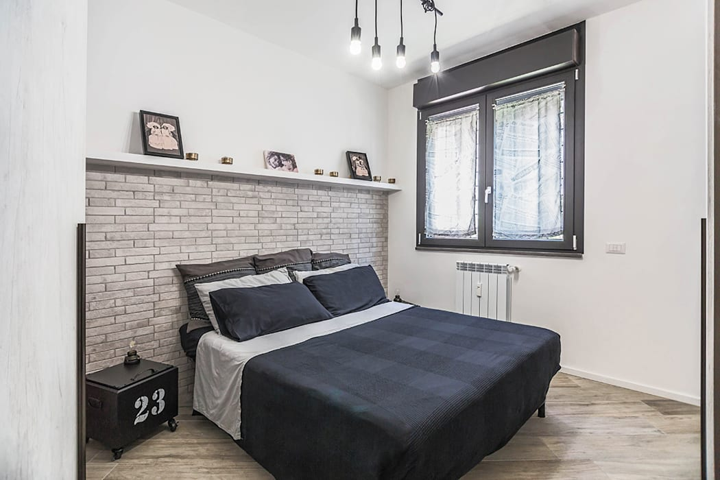 Ristrutturazione appartamento 85 mq roma, casilina: camera ...