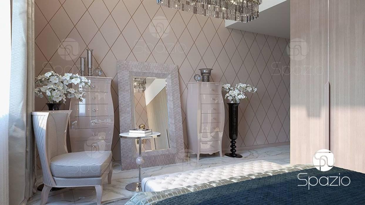 Bedroom by Spazio Interior Decoration LLC