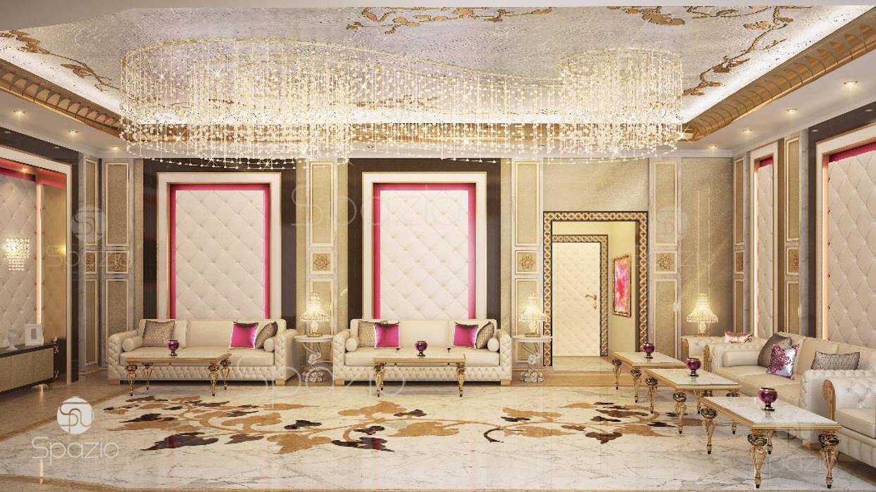 Living room by Spazio Interior Decoration LLC