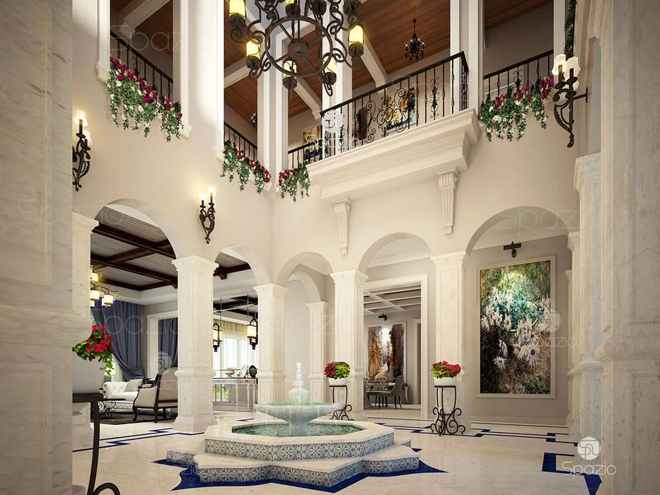 Corridor & hallway by Spazio Interior Decoration LLC