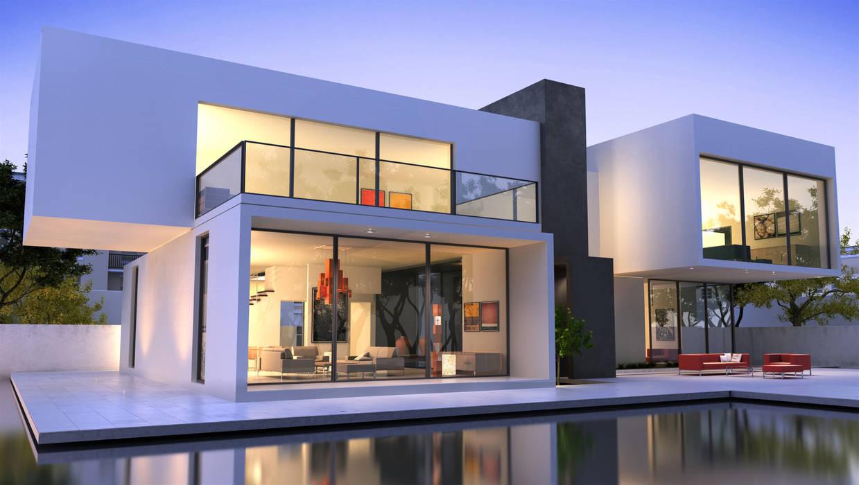 manufact L 20 Life Style Villa 209:  Einfamilienhaus von manufact masterplan gbr     architects.engineers