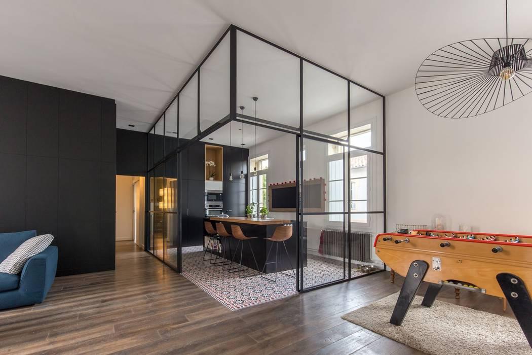 SBL: Cuisine de style  par Brengues Le Pavec architectes