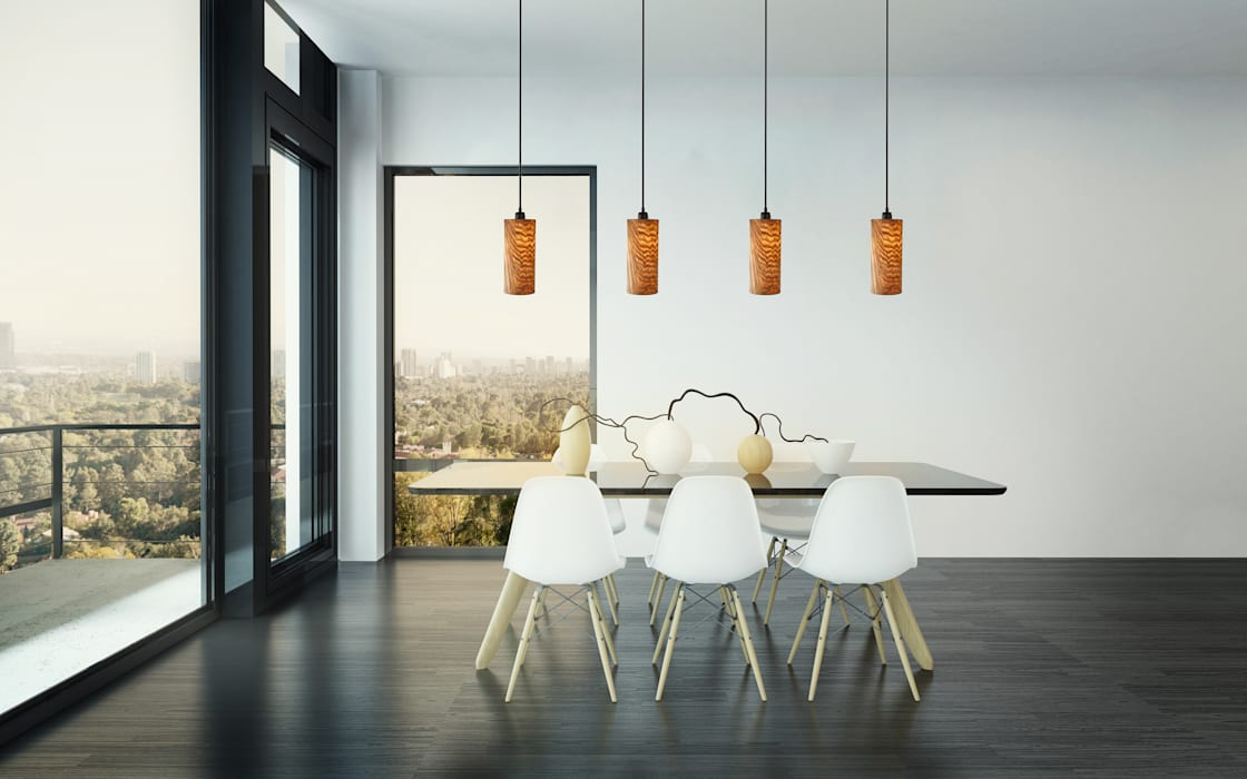 Nux Pendelleuchte Esstisch Modern Von Homify Modern Holz
