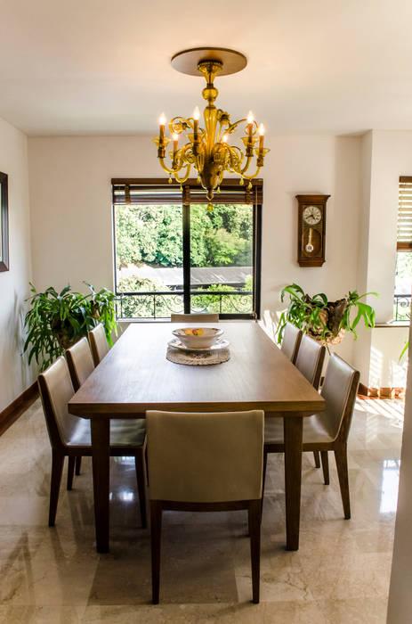 Comedor: Comedores de estilo ecléctico por Tejero & Ángel Diseño de Interiores