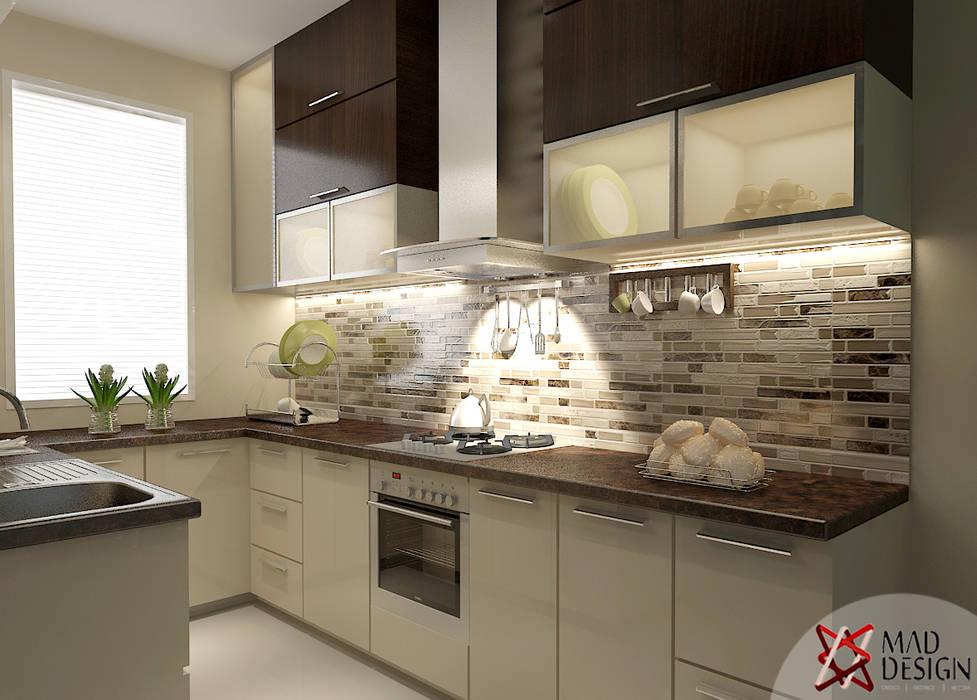 KITCHEN VIEW :  Kitchen by MAD DESIGN