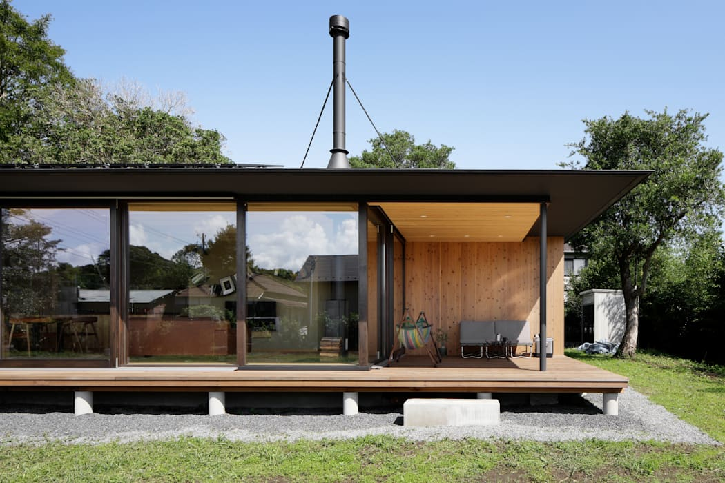 Teras oleh atelier137 ARCHITECTURAL DESIGN OFFICE, Asia Kayu Wood effect
