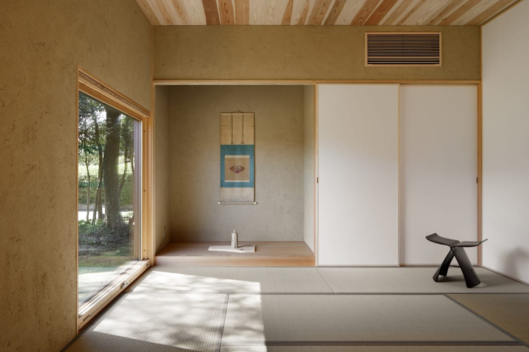 Ruang Multimedia oleh atelier137 ARCHITECTURAL DESIGN OFFICE, Asia Kayu Wood effect