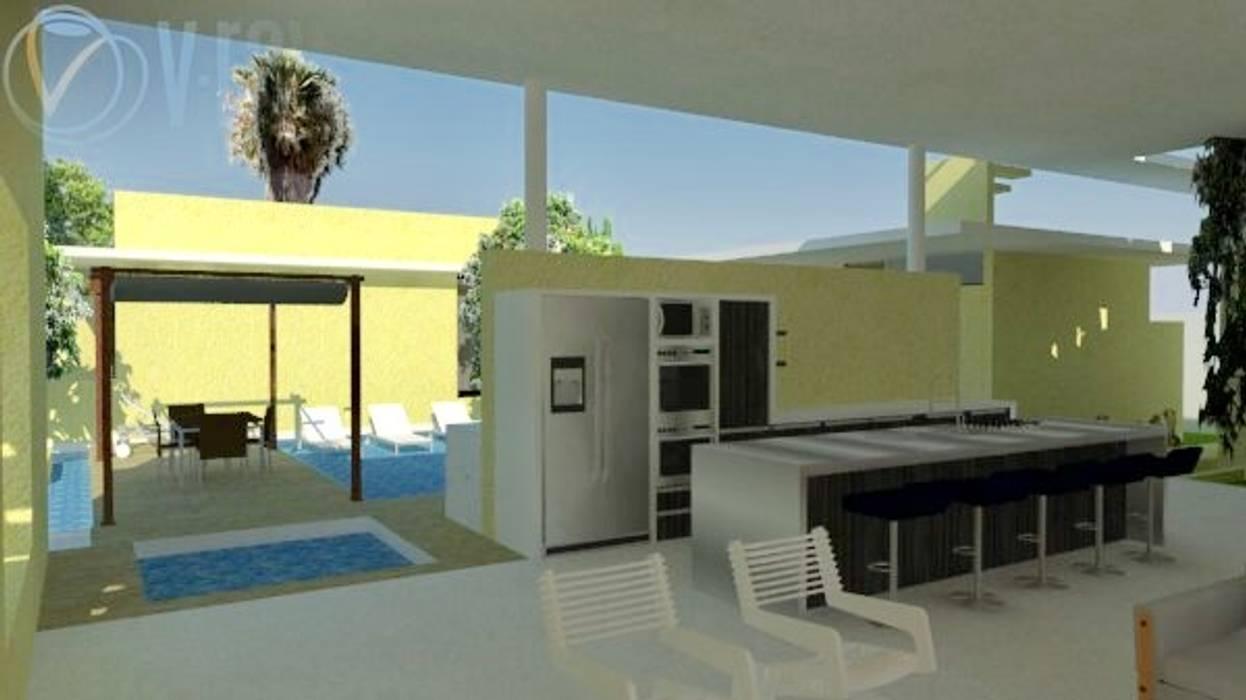 Casas de estilo minimalista de Heritage Design Group Minimalista