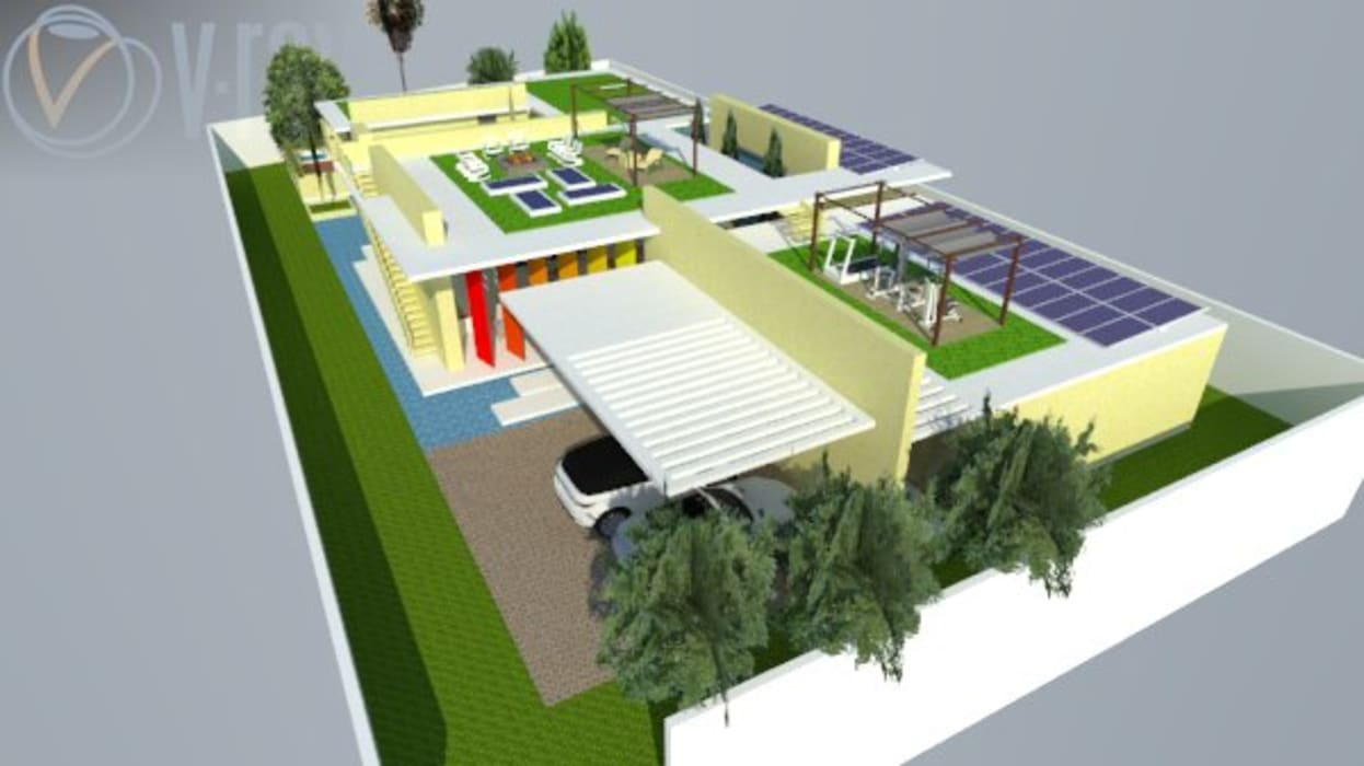 Casa Barranquilla Casas de estilo minimalista de Heritage Design Group Minimalista