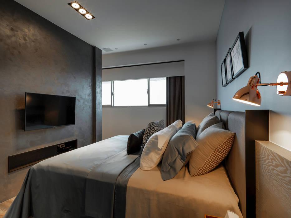 Dormitorios de estilo  de 存果空間設計有限公司,