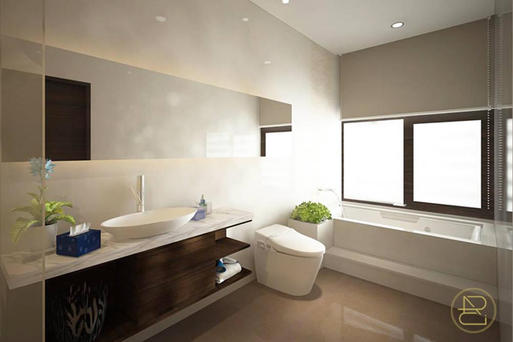 SL House: Kamar Mandi oleh Arci Design Studio,