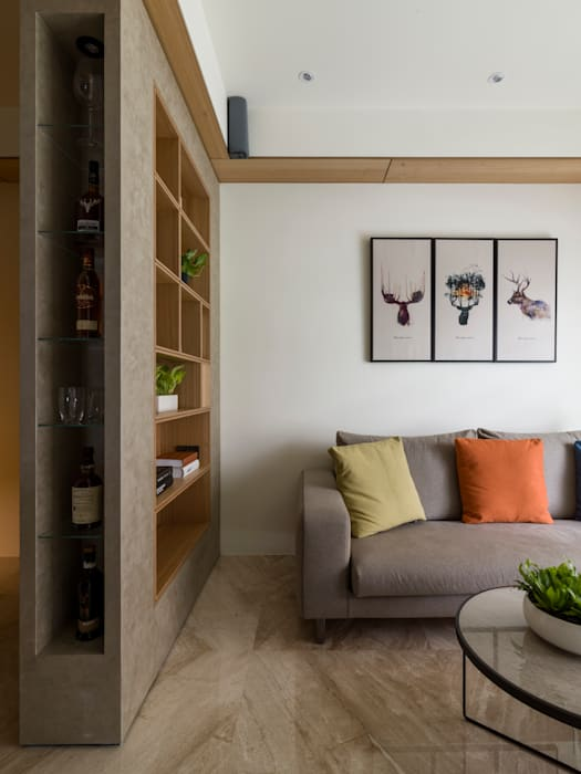 Modern living room by 楊允幀空間設計 Modern