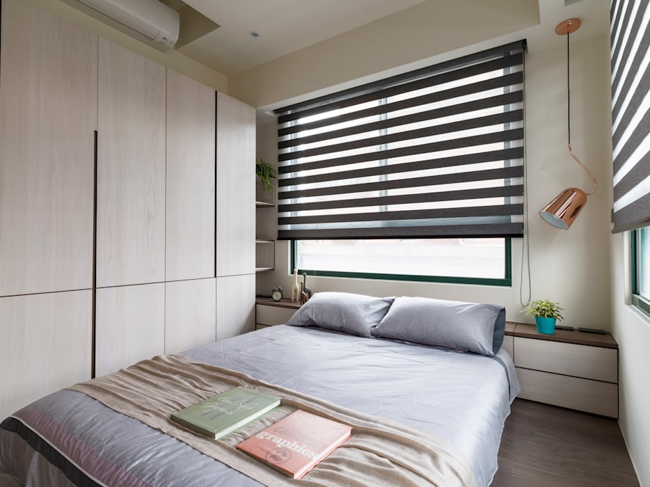 Moderne slaapkamers van 楊允幀空間設計 Modern
