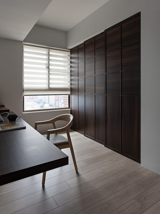 客房隔間:  臥室 by 禾光室內裝修設計 ─ Her Guang Design