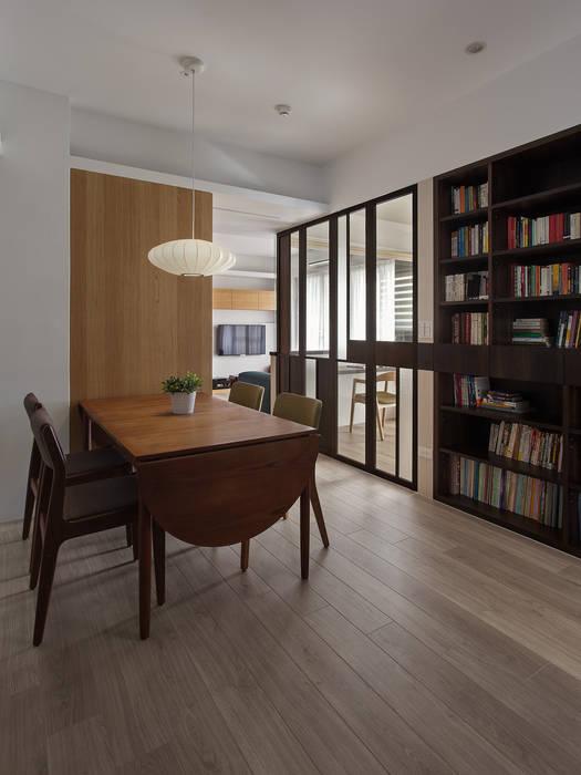 餐廳設計:  餐廳 by 禾光室內裝修設計 ─ Her Guang Design