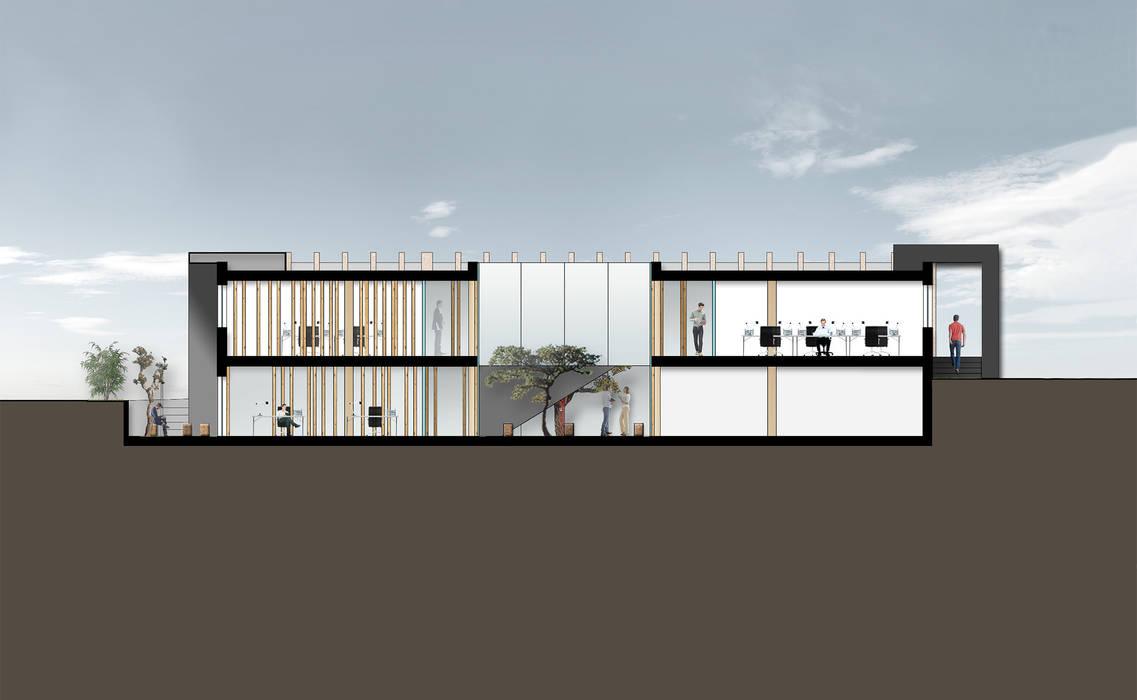de style  par Maia e Moura Arquitectura, Industriel