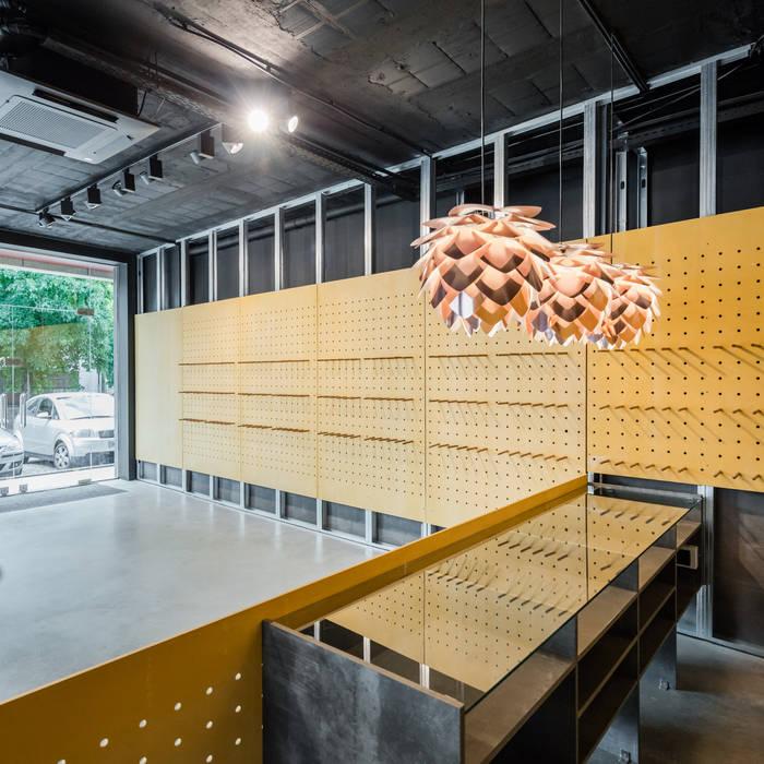 Kantor & Toko Minimalis Oleh Tiago do Vale Arquitectos Minimalis