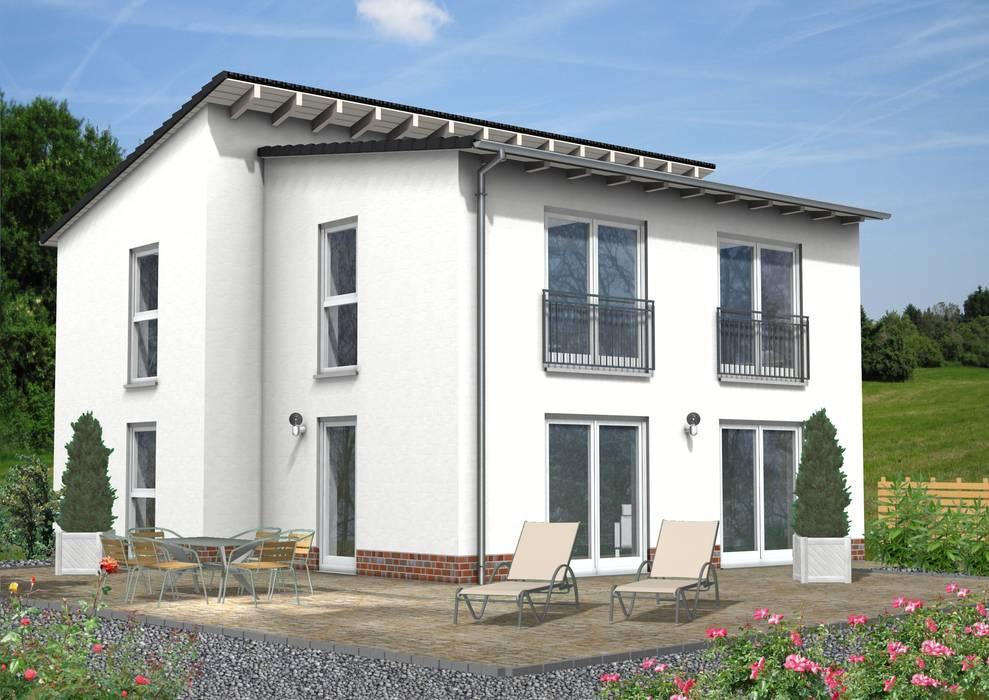 SI-Massivhaus der Woche KW 42/2017. Pultdachhaus SI-Avantgarde 147:  Einfamilienhaus von homify