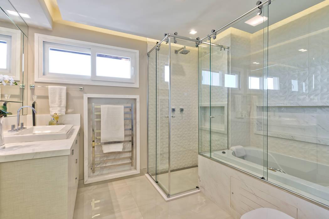 Moderne Badezimmer von Ana Crivellaro Modern Stein