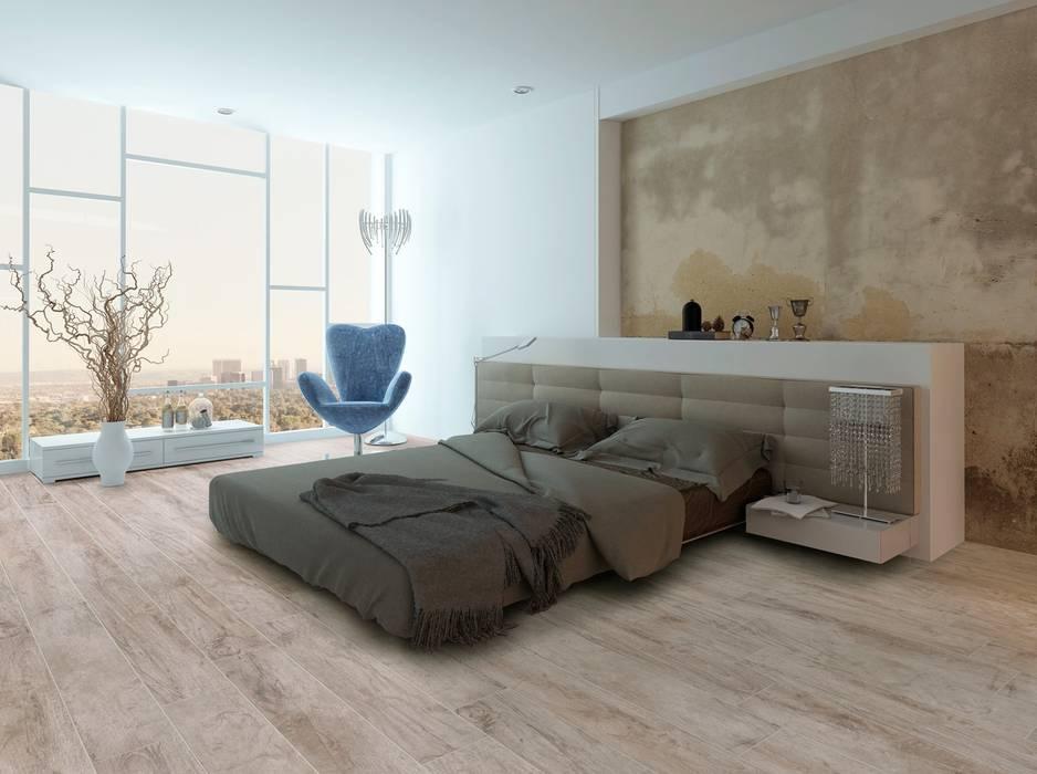 Fliesen in holzoptik im schlafzimmer moderne schlafzimmer ...