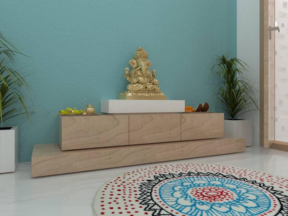 Koridor & Tangga Minimalis Oleh Ravi Prakash Architect Minimalis Kayu Buatan Transparent